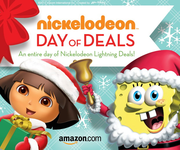 "Amazon's ""Nickelodeon Day of Deals"""