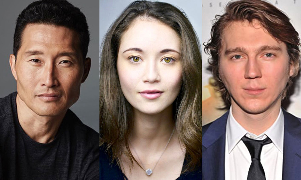Daniel Dae Kim, Katie Chang, Paul Dano (courtesy AMC)