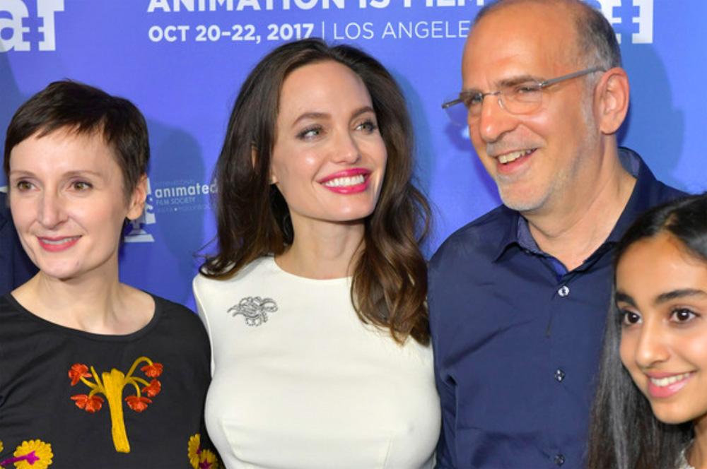 Angelina Jolie and Eric Beckman