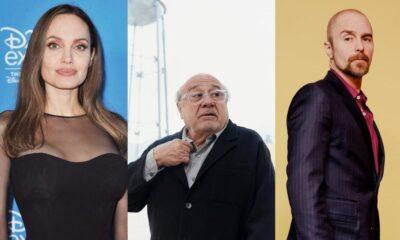 Angelina Jolie, Danny DeVito, Sam Rockwell