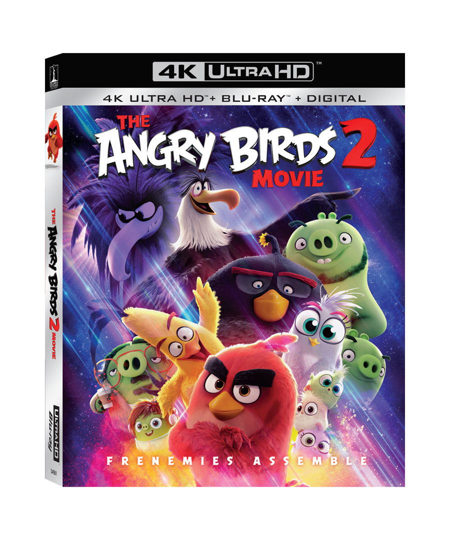 The Angry Birds Movie 2 4k Ultra HD