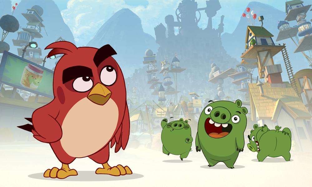 cake hatching  long form angry birds toon animation magazine