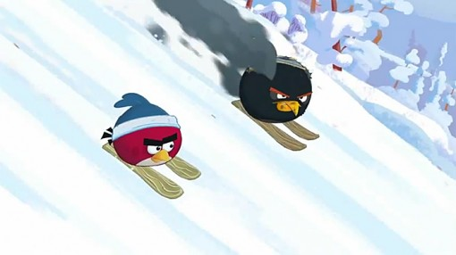 Angry Birds Wreck the Halls