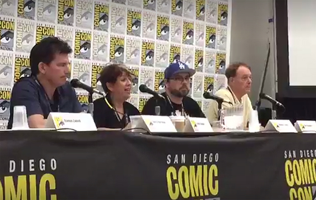 Animation Magazine's Comic-Con panel