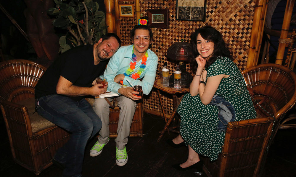 Animation Guild Local 839 party at Clifton's in Los Angeles