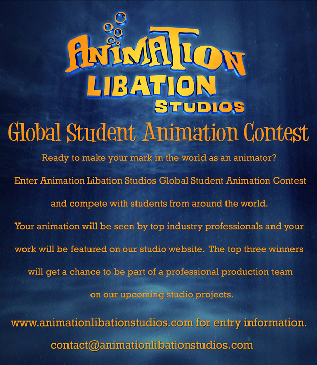 Animation Libation Studio Announces New Contest