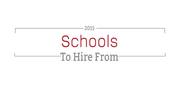 The Animag 250: Schools to Hire From