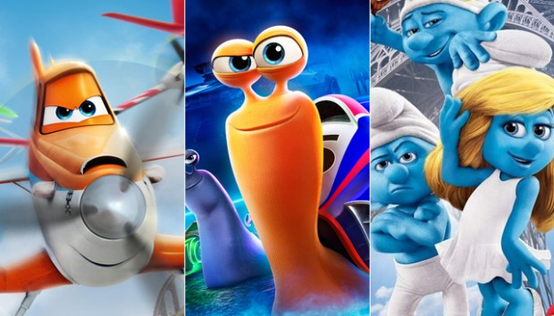 Planes / Turbo / Smurfs 2