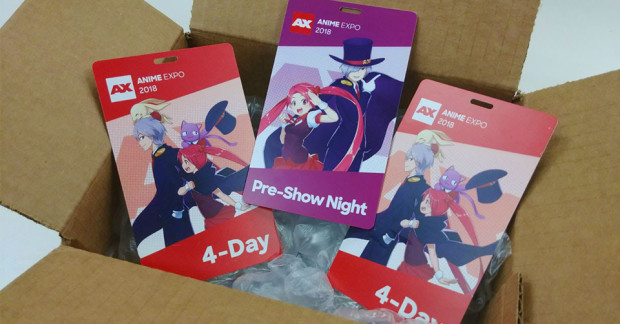 Anime Expo badges