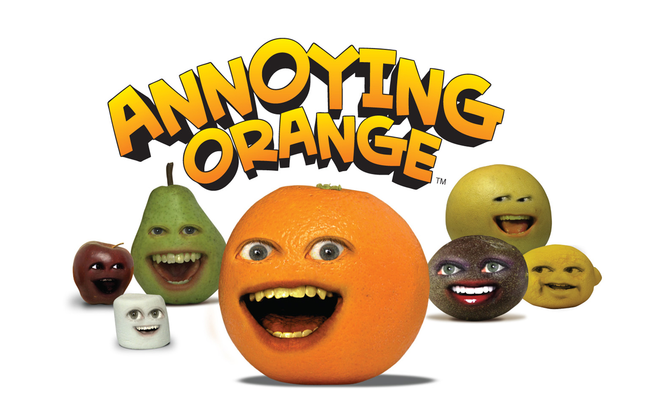 annoying orange characters coloring pages - photo#32