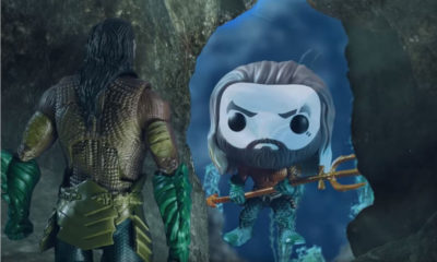 Aquaman and Mera - Stop Motion Adventure