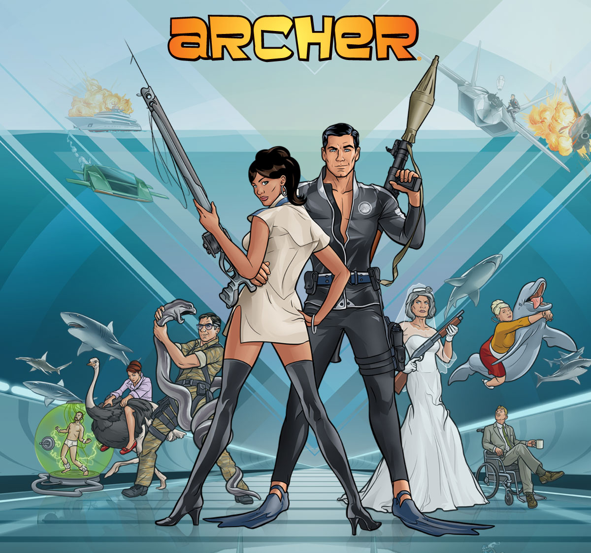 Archer season 5 episode 1 - Archer episodes youtube ...