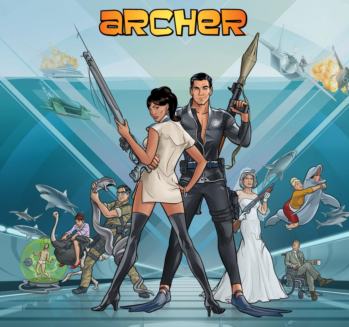 FX Gives 'Archer' Season 5 Mission