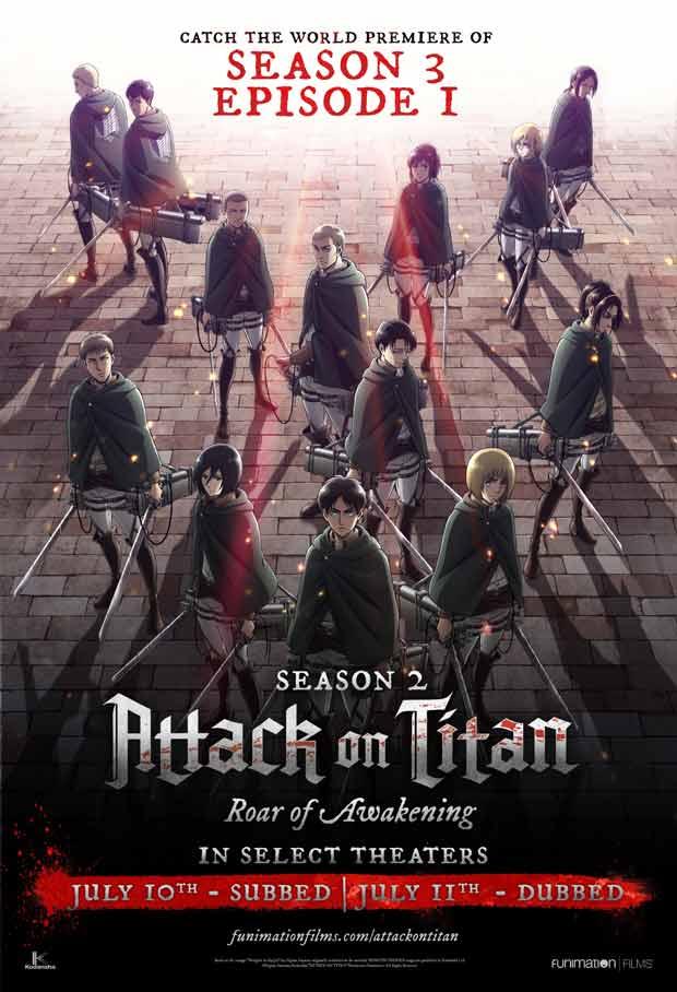 Attack on Titan Season 2 Movie: Roar of Awakening