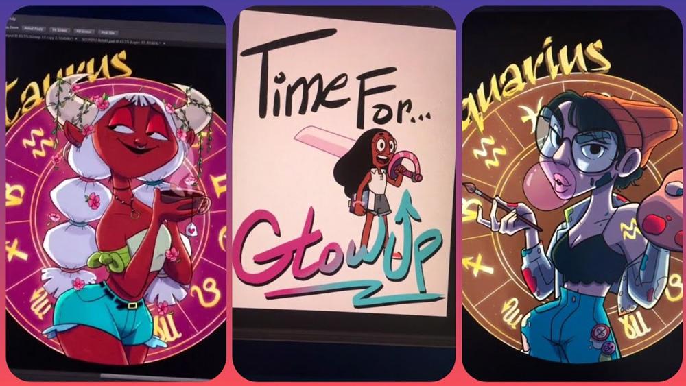 Zodiac characters by Audrey Hopkins (AudityDraws)