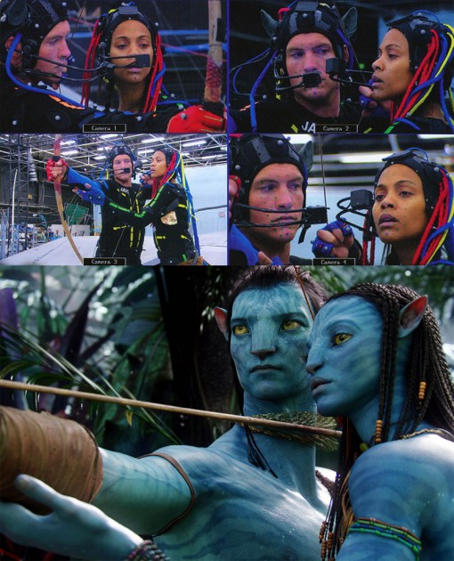 Avatar motion capture