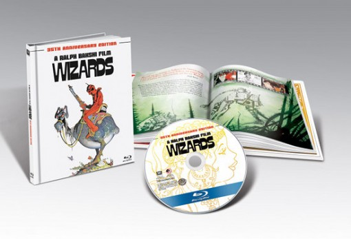Wizards Blu-ray & book package