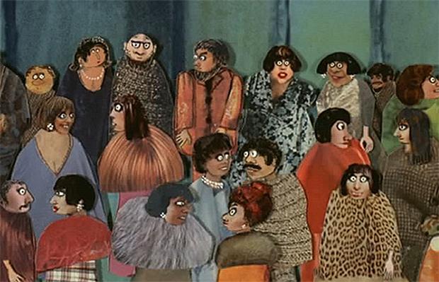 Banquet by Zofia Oraczewska