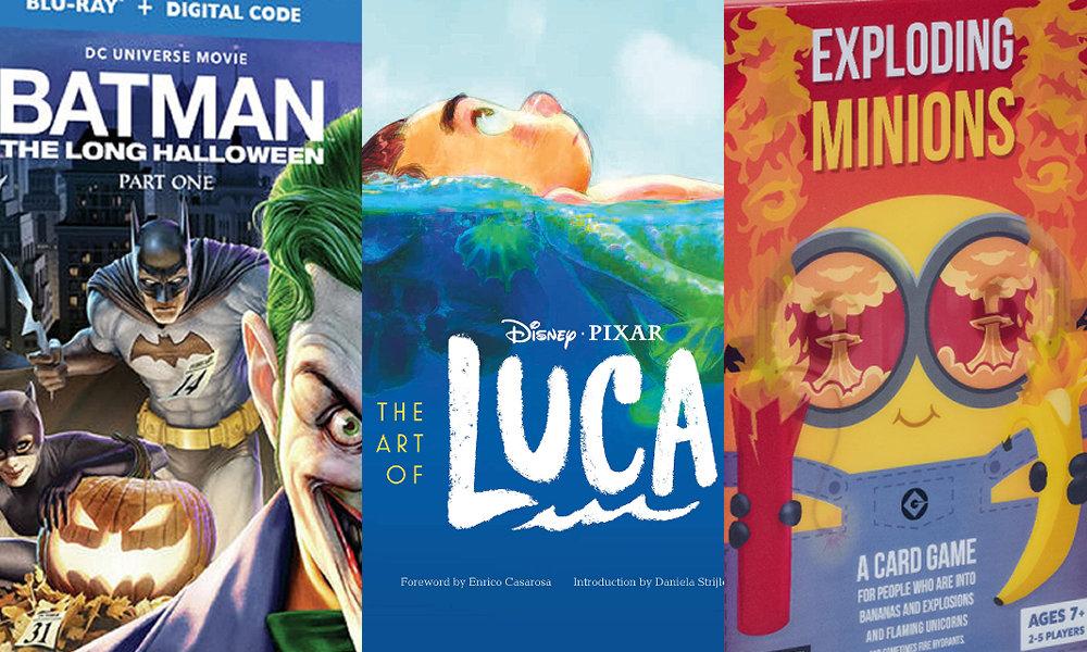 Batman: The Long Halloween, The Art of Luca, Exploding Minions