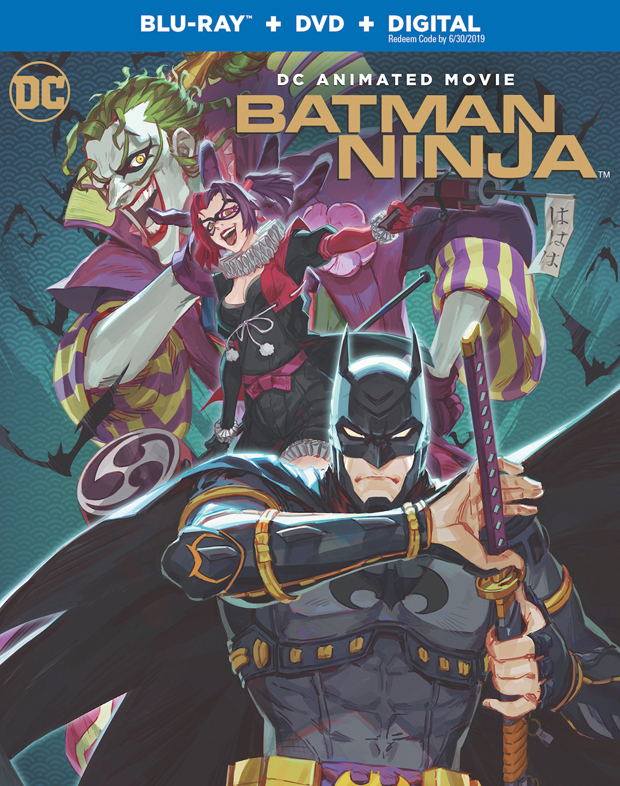 Batman Ninja Blu-ray + DVD + Digital