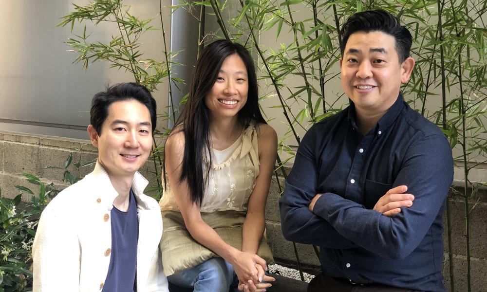 L-R: BAAA co-founders Alex Woo (KuKu Studios), Maureen Fan (Baobab Studios) and Robert Kondo (Tonko House