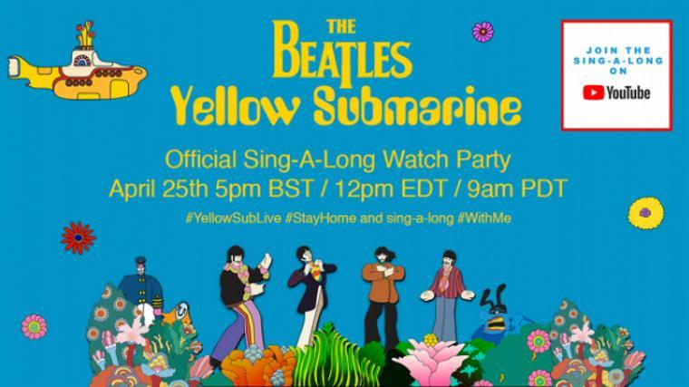 "The Beatles ""Yellow Submarine"""