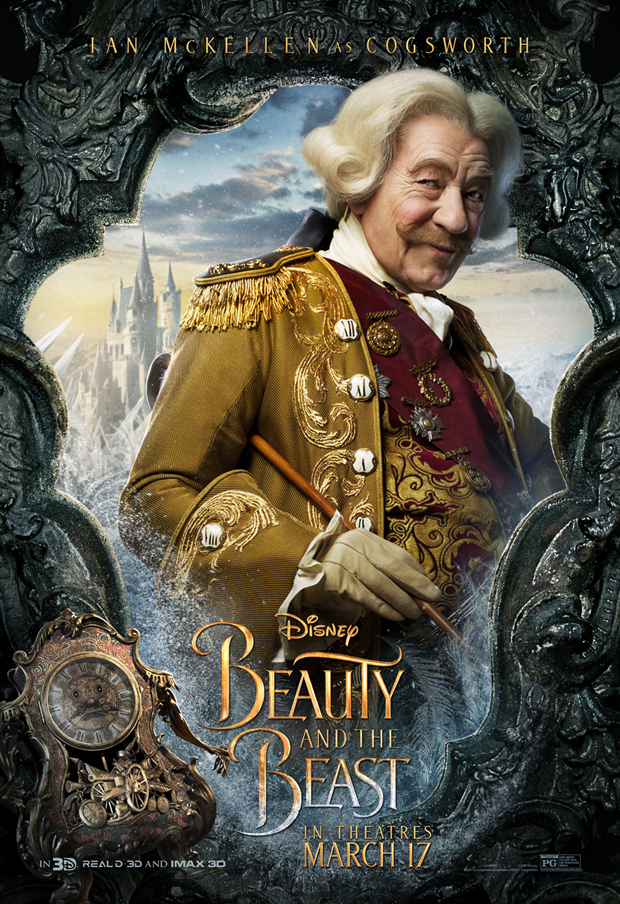 Beauty and the Beast - Cogsworth