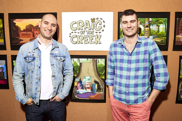 Ben Levin (L) and Matt Burnett (R)
