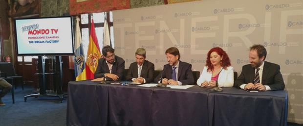 Bienvenida Mondo TV Producciones Canarias