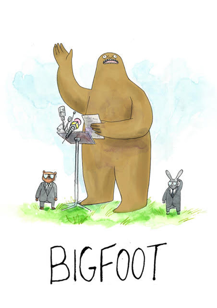 Bigfoot (courtesy MONDO)
