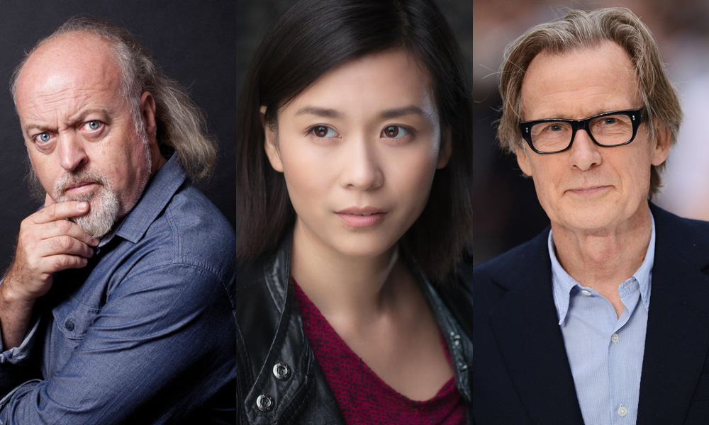 Bill Bailey, Naomi Yang, and Bill Nighy