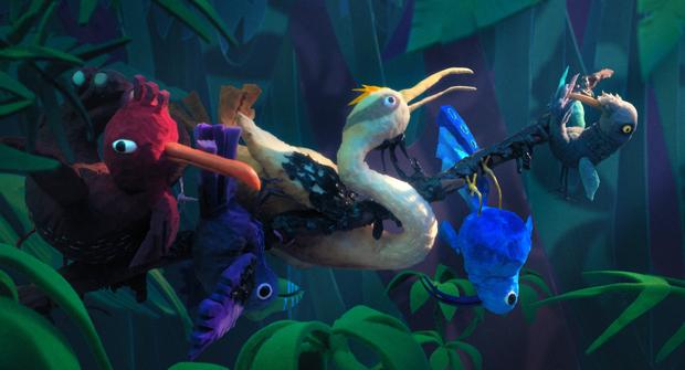 Birdline by Evan Derushie (Animation 6: Birds & Beasts)