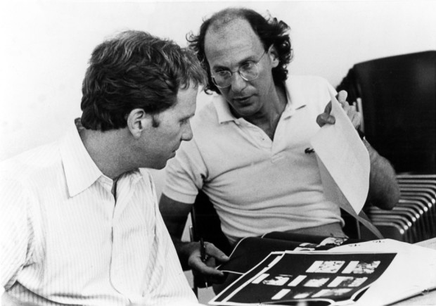 R/Greenberg Associates founders Robert (Bob) Greenberg and Richard Greenberg, 1980. [Photo from rgabydesign.com]