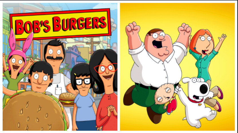 Bob's Burgers and Family Guy