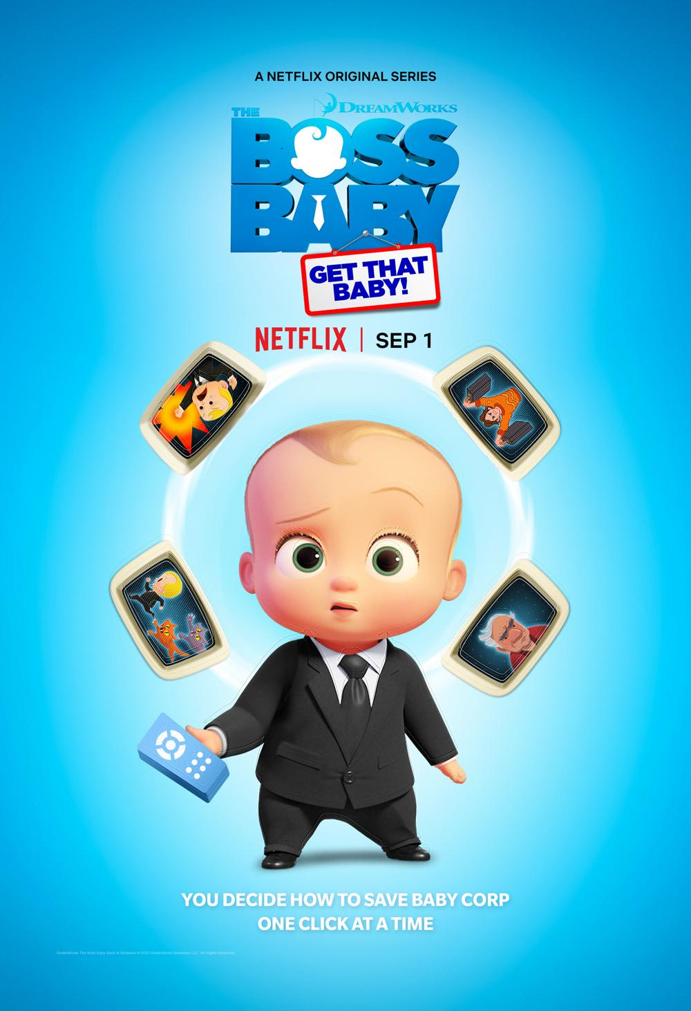 DreamWorks The Boss Baby: Get That Baby​!