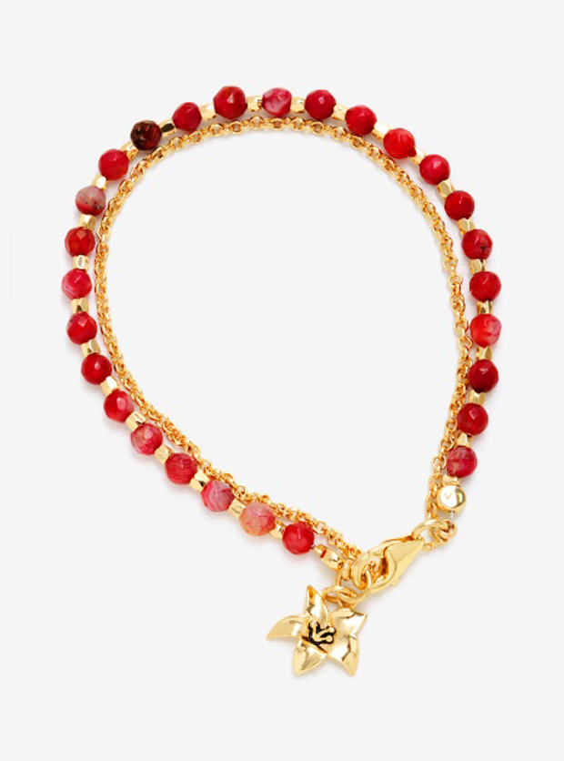 Mulan Layered Charm Bracelet - BoxLunch Exclusive