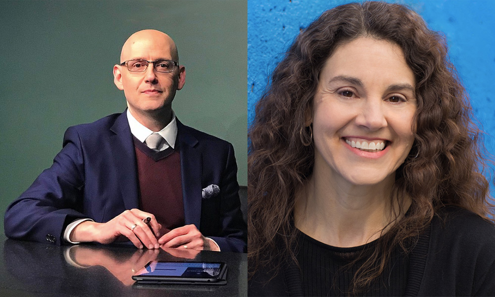 Brad Meltzer and Linda Simensky