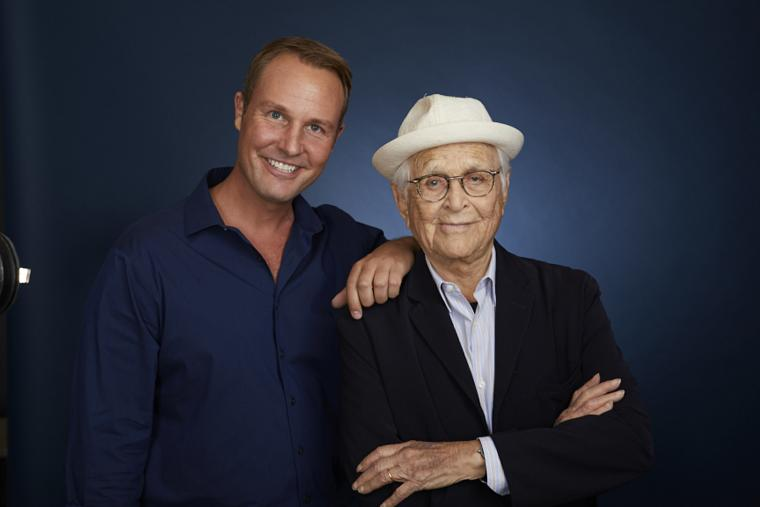 Brent Miller and Norman Lear
