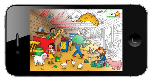 Caillou's World app