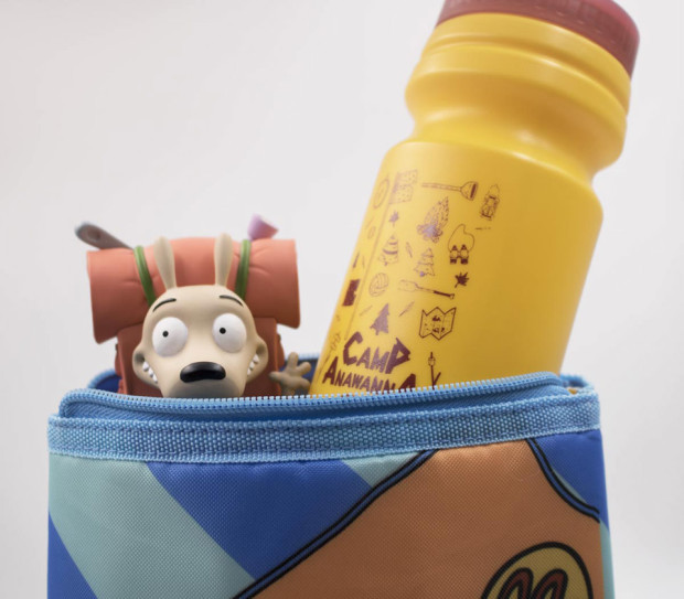 Camp Nick Box Camping Rocko Vinyl Figure