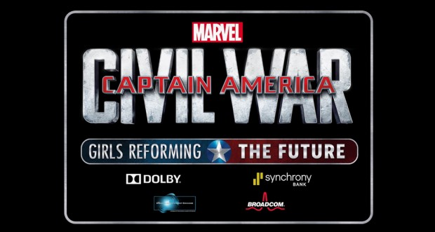 Captain America: Civil War - Girls Reforming the Future Challenge