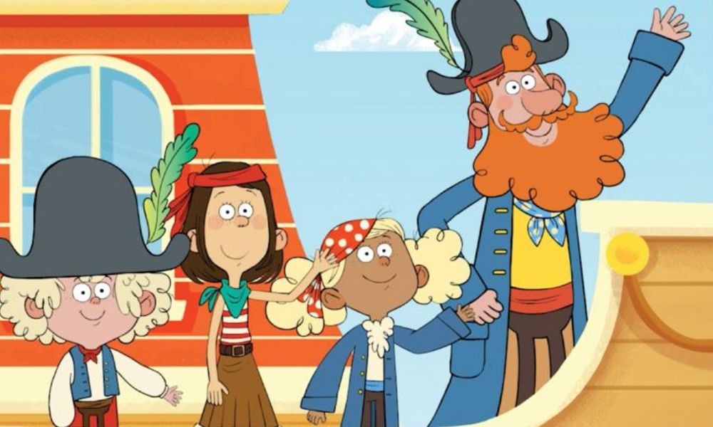 Captain Seasalt and the ABC Pirates