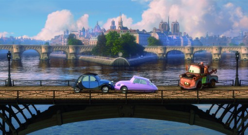 """CARS 2"" Right: Mater (voice by Larry the Cable Guy) ©Disney/Pixar. All Rights Reserved."