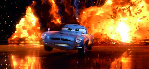 """CARS 2"" Finn McMissile (voice by Michael Caine) ©Disney/Pixar. All Rights Reserved."