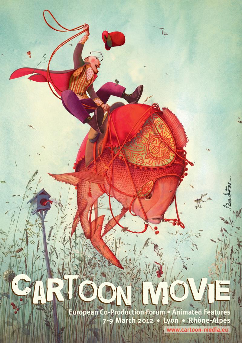 Cartoon movie poster