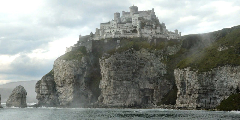 Casterly rock in Game of Thrones