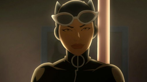 Eliza Dushku voices Catwoman in a new DC Universe animated short film debuting at New York Comic-Con.