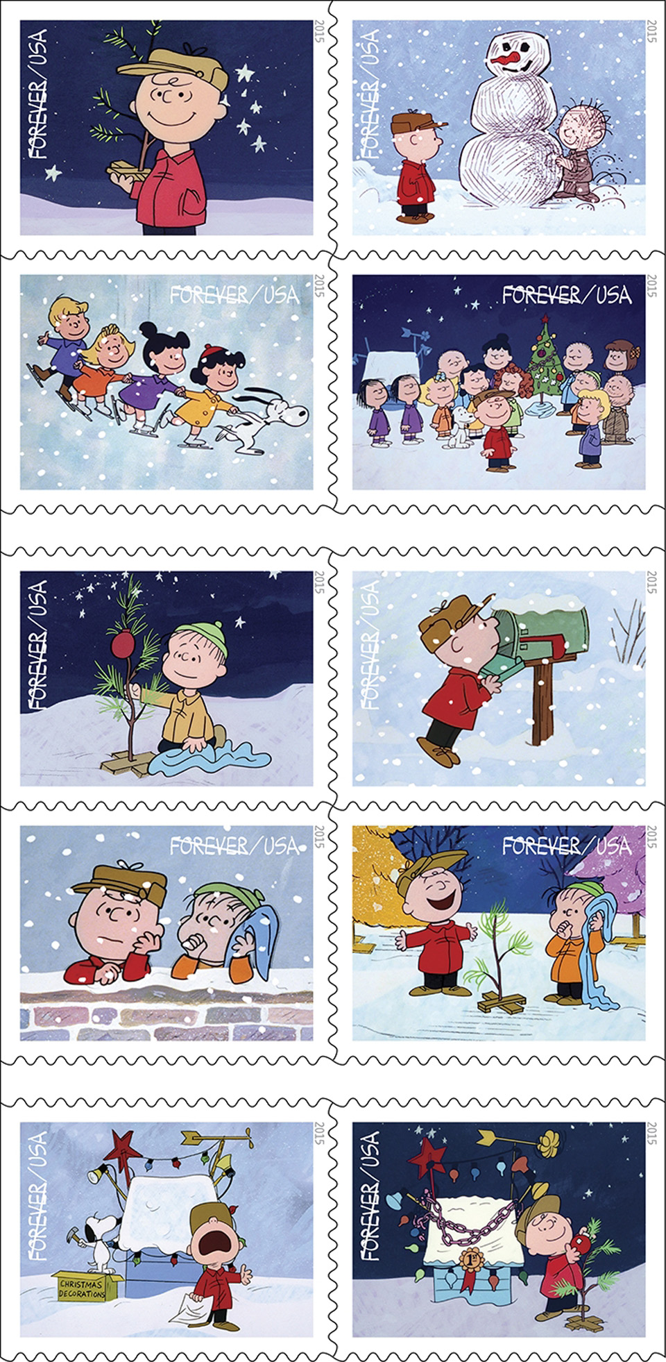 Charlie Brown Christmas Post
