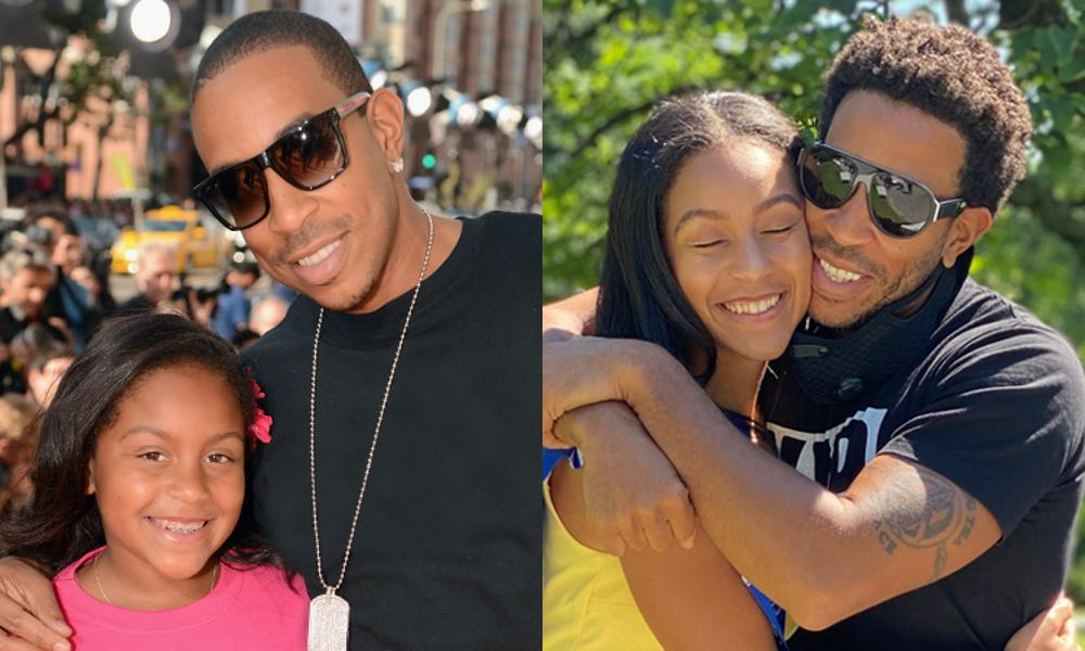 Chris Bridges and daughter Karma, then and now!