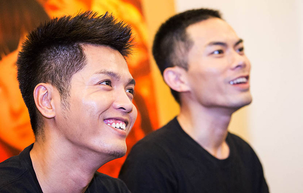 Chun Zhang (L) and Xuan Liang (R)